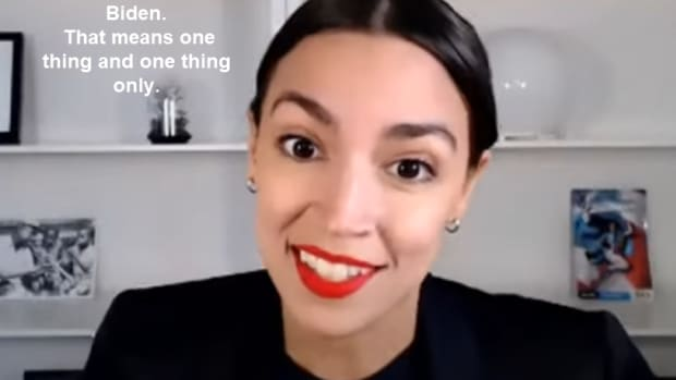 AOC is pleased with Biden2