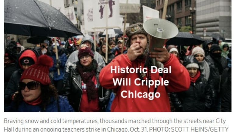 Chicago Headed for Insolvency, Get the Hell Out Now