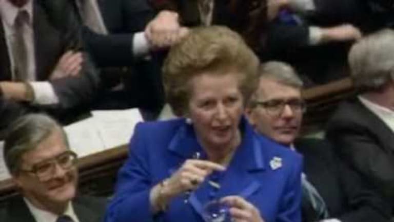 Thatcher's Last Stand Against Socialism: Humorous Video on the Euro, European Politics, and Wealth