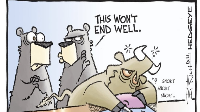 Mish in the Arena with Hedgeye: Hiding Out in Gold and Treasuries