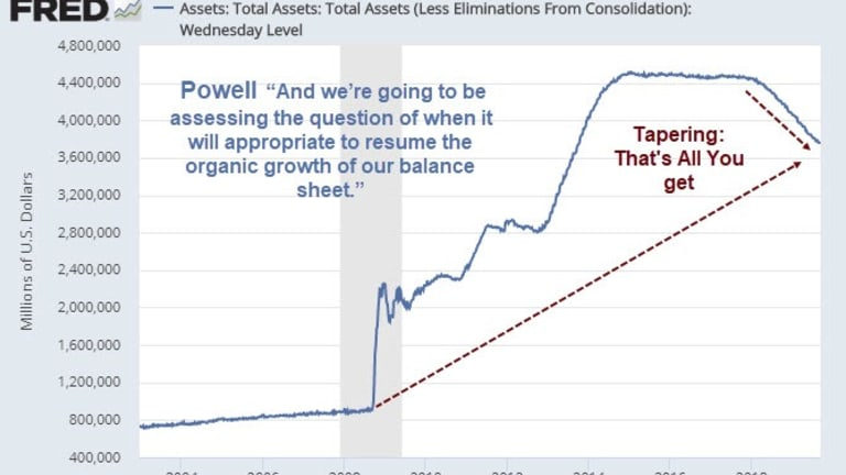 """QE Debate: What Did Powell Mean by """"Need to Resume Balance Sheet Growth""""?"""