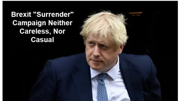 """Brexit """"Surrender"""" Strategy: Winning Ugly"""