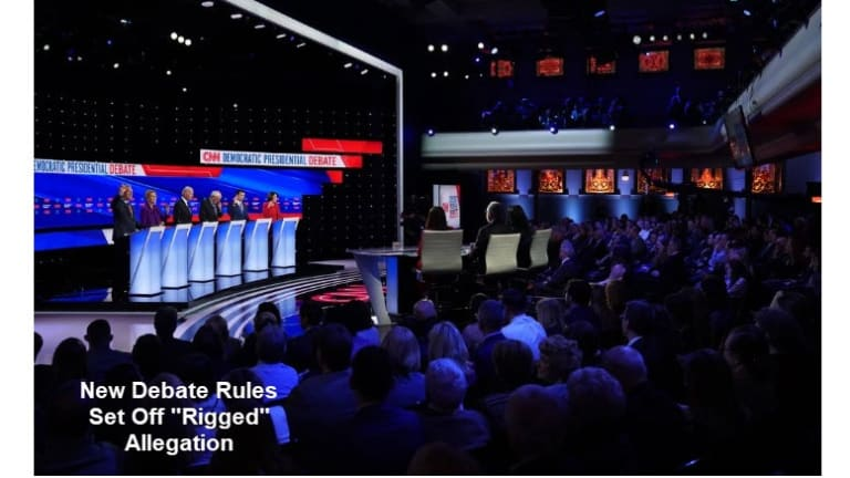 """Bernie Supporters Scream """"Rigged System"""" Over Debate Rule Changes"""