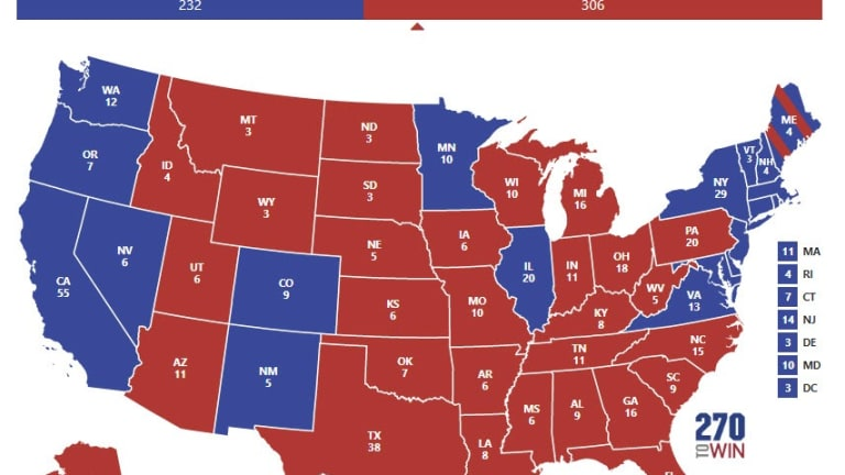 Trump Will Easily Be Defeated in 2020, Perhaps a  Landslide