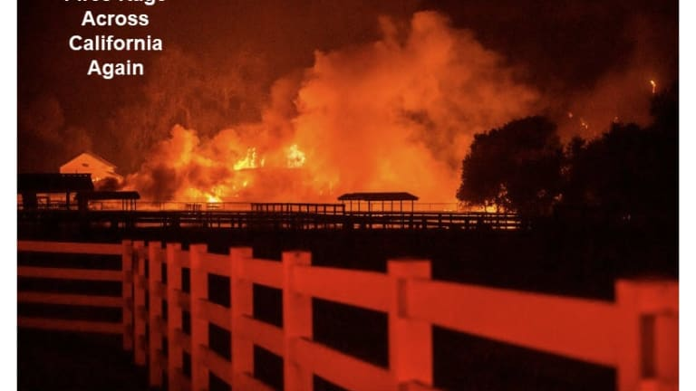 Weather Service Issues First Ever Extreme Fire Warning for LA