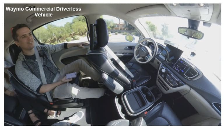 Commercial Driverless Taxis Have Arrived