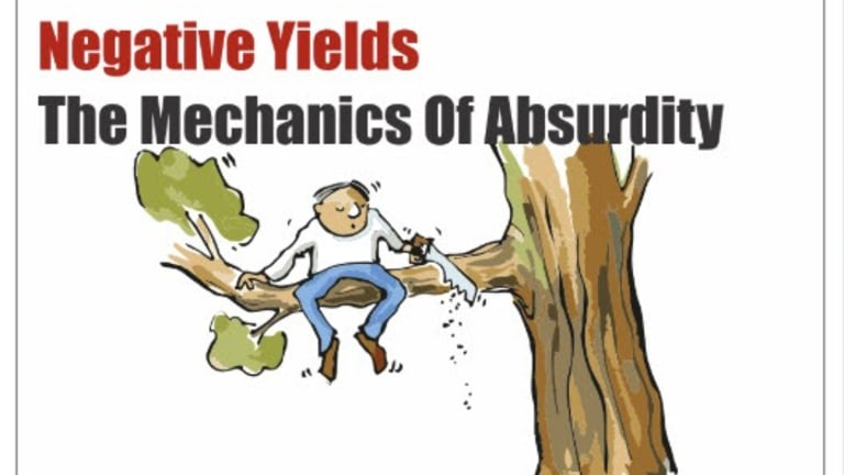 Mechanics of Absurdity, Negative Yields, and Other Tweets of the Day