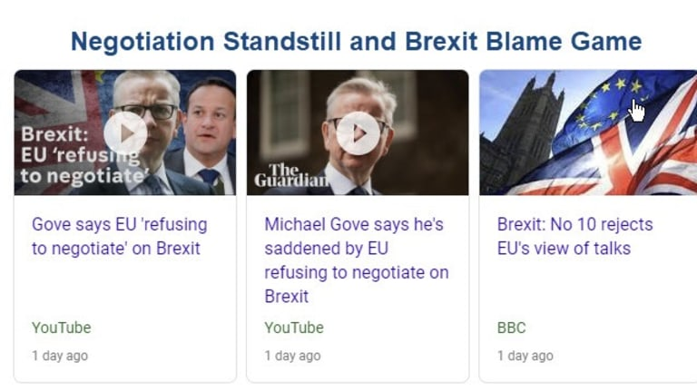 Brexit Blame Game Coming Up: Who Gets the Blame (By Person and Country)?