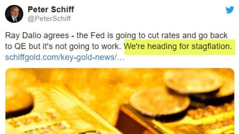 """""""Heading for Stagflation"""" says Peter Schiff: I Challenge Schiff to a Debate"""