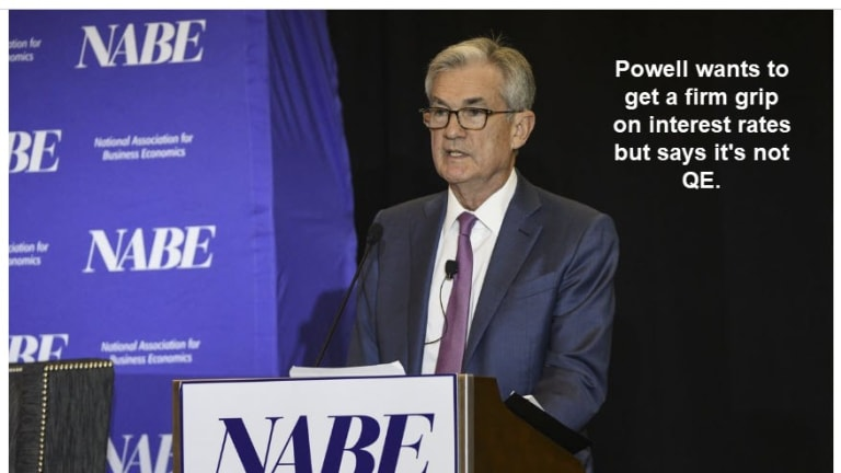 Fed Seeks Firm Grip On Interest Rates, Supposedly Not QE