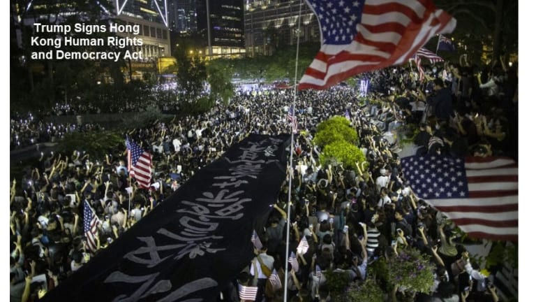 Override Threat Trump Forced to Sign Hong Kong Bill, China Will Retaliate