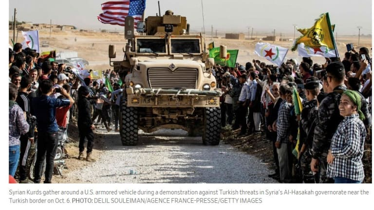 US Avoids War With Turkey as Trump Pulls Troops Out of Syria