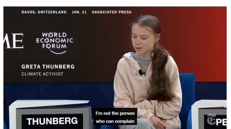 Greta to the World: Immediately and Completely Divest From Fossil Fuels