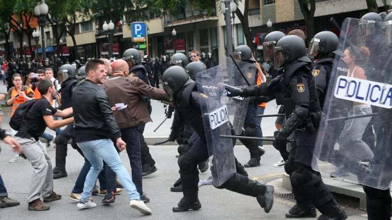 For All the World to See: Police Brutality Videos and Images in Catalonia
