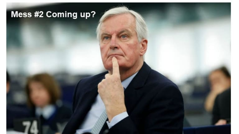 Brexit Question of the Day: Why Does Barnier Still Have a Job?