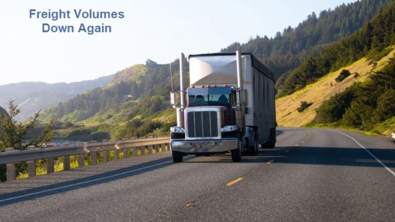 Recession Warning: Freight Volumes Negative YoY for 11th Straight Month