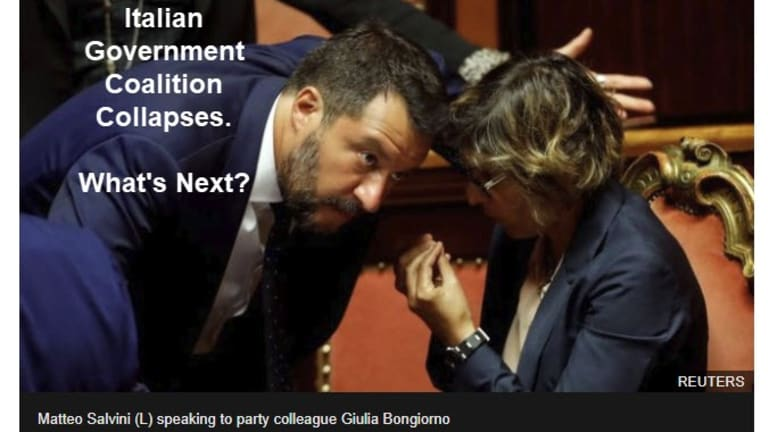 Italy's Coalition Government Collapses: What's Next?
