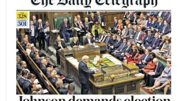 Another Weird Brexit Turn: Tories Vote to Support No Deal Bill in House of Lords