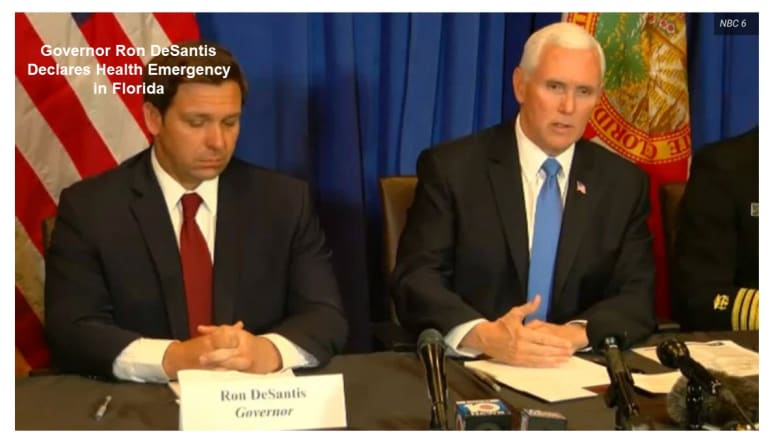 Florida Governor Declares State of Emergency