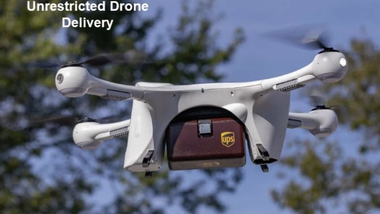 """FAA Approves UPS for """"Unlimited"""" Commercial Drone Delivery"""