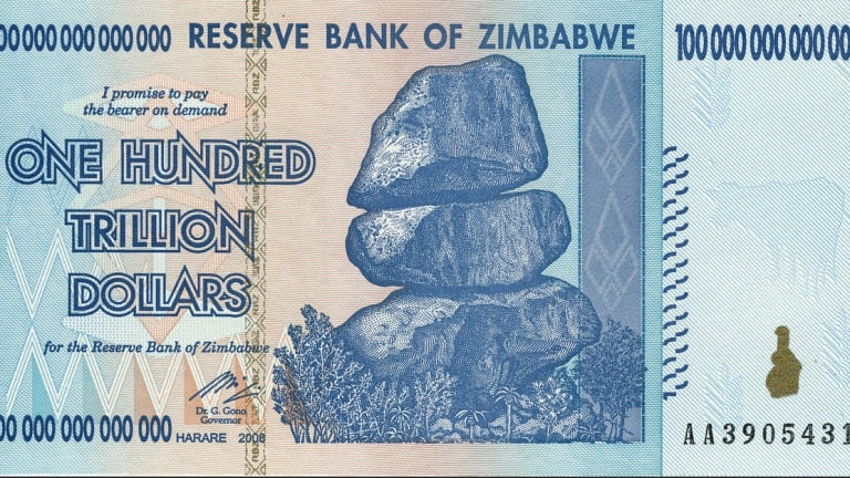 Hyperinflation Returns to Zimbabwe, 70% Interest Rate and 230% Inflation