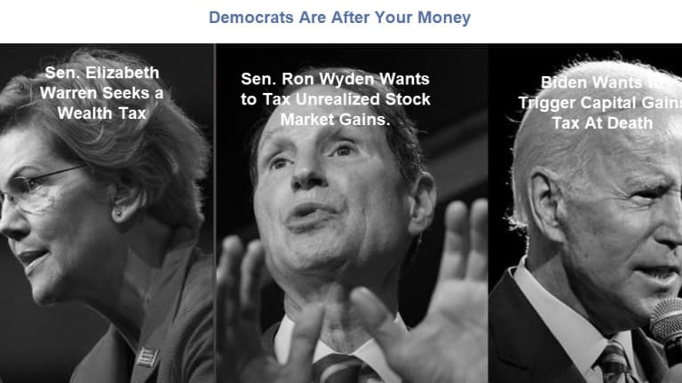Democrats Are After Your Money With Wealth Taxes, Even a Tax on Unrealized Gains