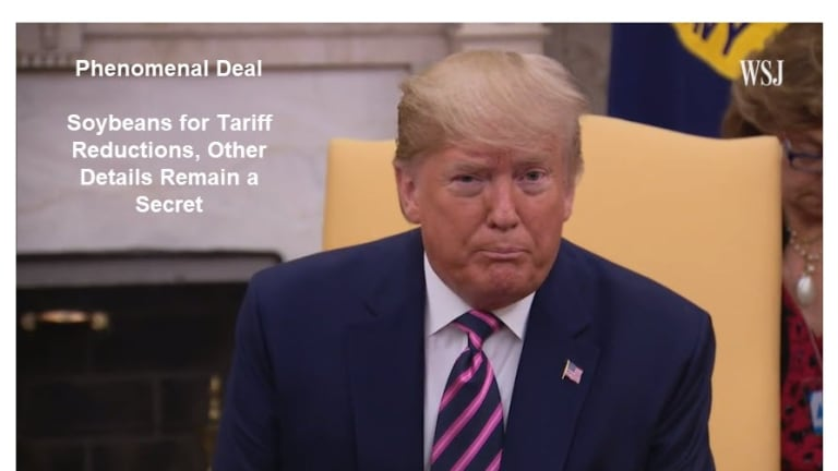 Trump's Amazing Trade Deal: Details a Complete Mystery