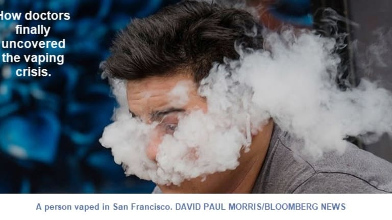 530 Confirmed Vaping Illnesses, Most Misdiagnosed as Pneumonia