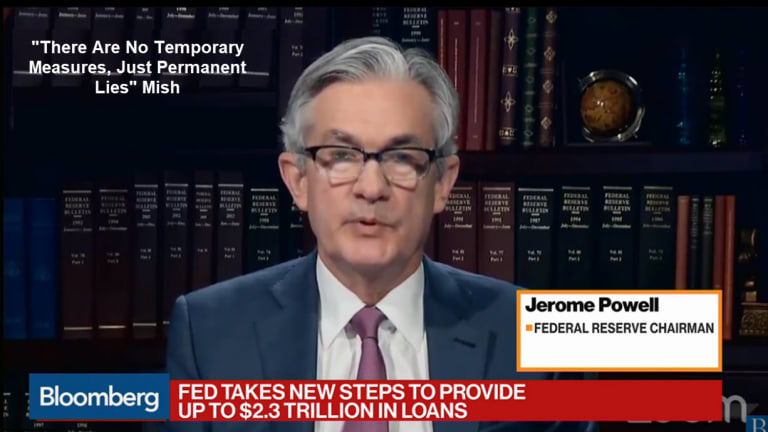 Fed Says Nothing New, Just Repeats One lie