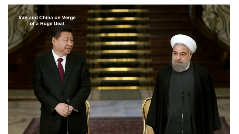 Iran and China on Verge of a Huge Deal - Thank Trump