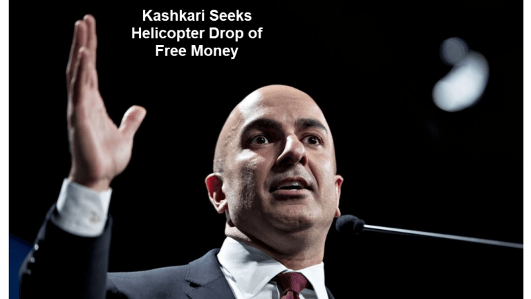Fed's Kashkari Urges Congress to Hand Out More Free Money