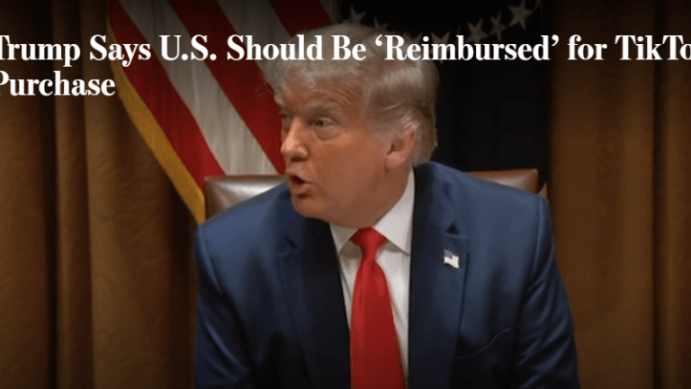 Trump's Outrageous and Unconstitutional Demands On TikTok and Microsoft