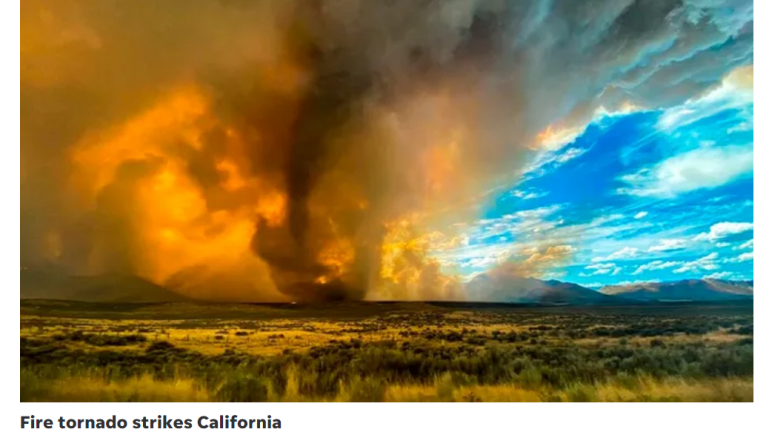 Devastating California Fires in Pictures and Video