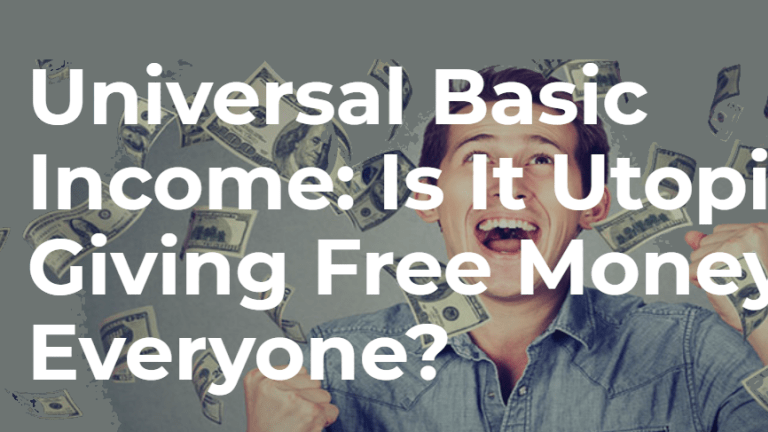 Another Preposterous Free Money Universal Basic Income Test on the Way