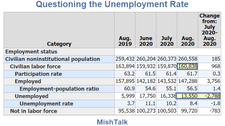 Huge Discrepancies Cast Doubt On the Better Than Expected Jobs Report