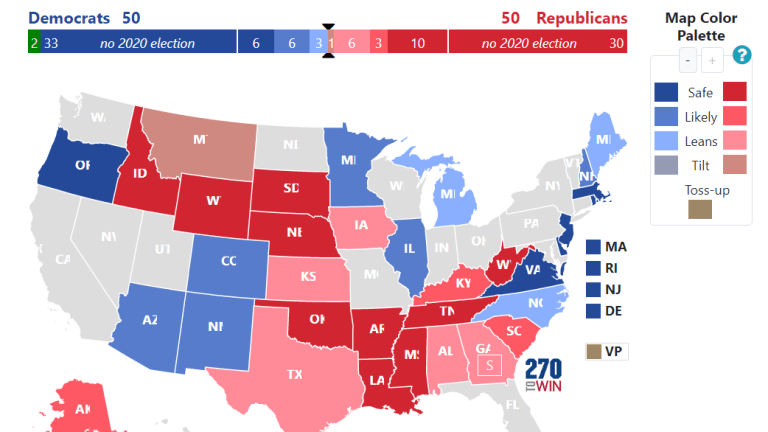 Senate Tie is the Most Likely Outcome