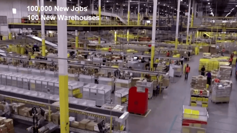 Amazon is a Rousing US Success Story to be Cheered