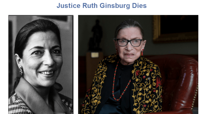 Justice Ginsburg Dies, What is the Election Impact?