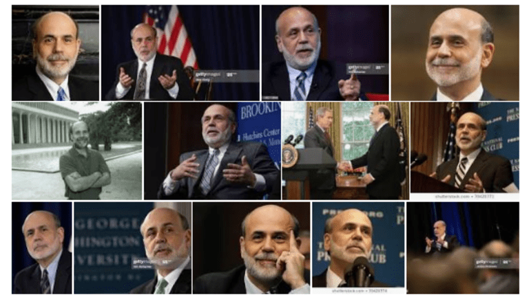 Not Clear to Bernanke that Stock Prices are Wildly Overvalued