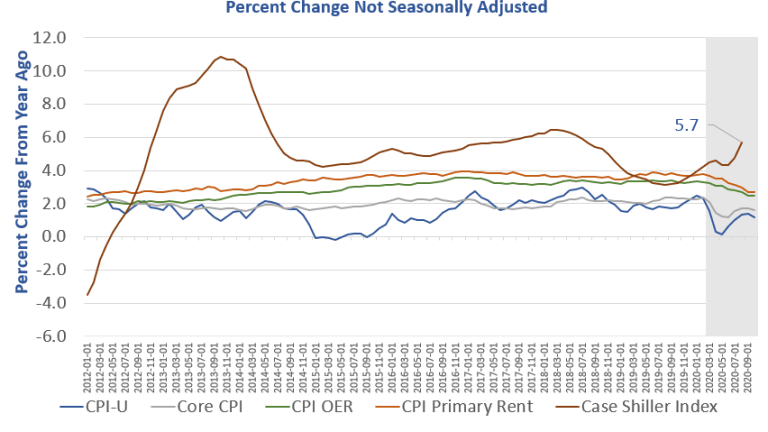 CPI Unexpectedly Weak, Allegedly No Inflation in October