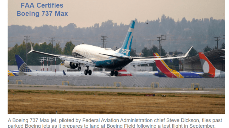 Boeing 737 Crashes Caused by a Few Lines of Missing Code