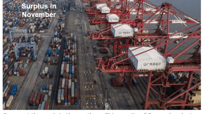 China Has Record Trade Surplus as Exports Surge