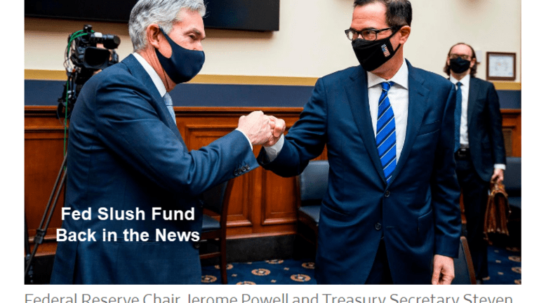 Democrats Demand the Slush Fund They Rejected in March