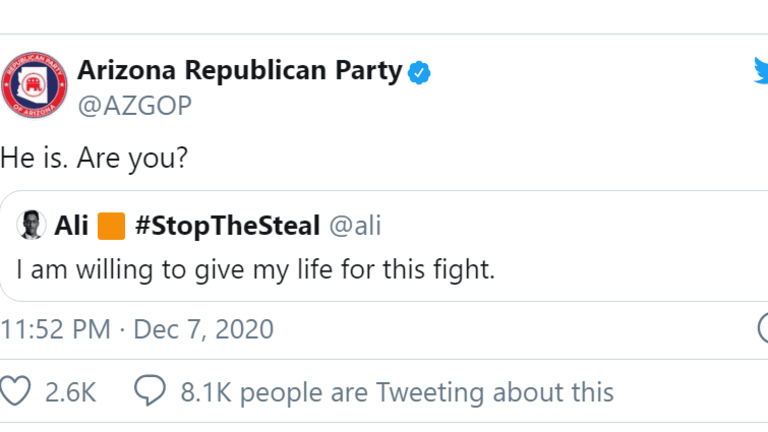 Are You Willing to Die For Trump?
