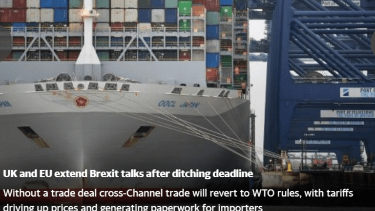 UK and EU Ditch Deadline and Extend Talks
