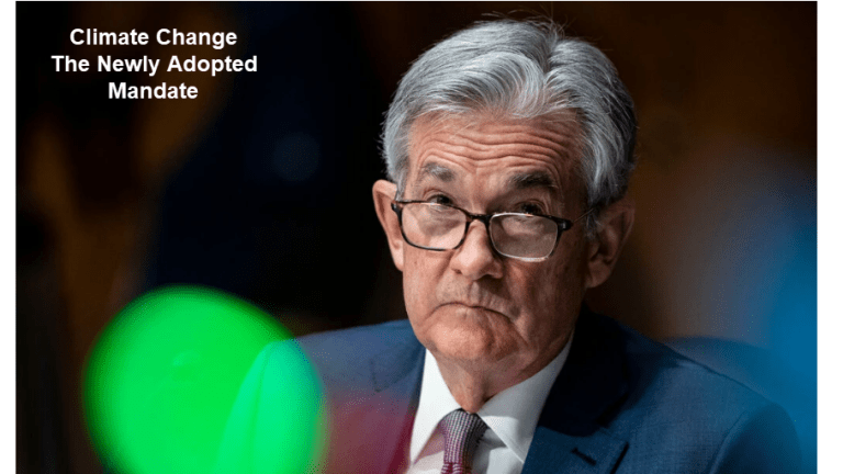 Climate Change Is the New Fed Mandate