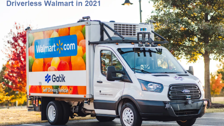 Walmart to Use Driverless Trucks With No Safety Backup in 2021