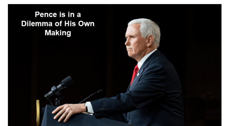 Pence is in the Limelight as Trump Increases Pressure