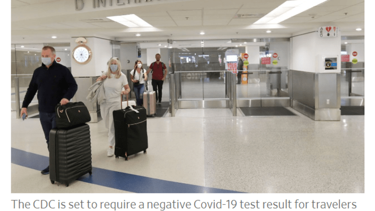 Huge Covid Restrictions Coming Up on International Air Travel