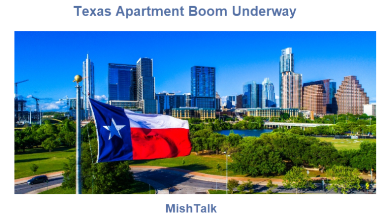Texas Has Four of the Top 5 Cities for New Apartment Construction